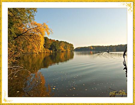 der Goldene Herbst am Machnower See
