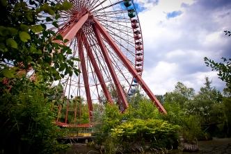Unter dem Riesenrad