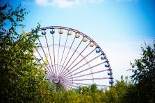 das Riesenrad und seine Sichten