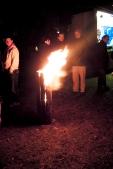 Schwedenfeuer mit unserer freiwilligen Feuererwehr