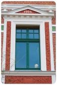 1906 - aber schon gut aufgearbeitet ein Haus aus unserer Dorfmitte, ganz frisch entdeckt.
