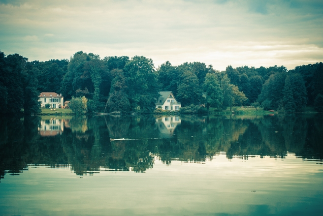 Häuser am See