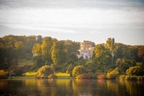 Blick auf das Schloss Babelsberg