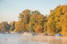leichte Nebel am Wannsee