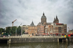Amsterdam, Flussschifffahrt, Urlaub, Schiffsreise