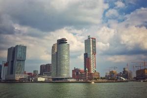 Rotterdam, Holland, Flussschifffahrt, Urlaub, Reisen,