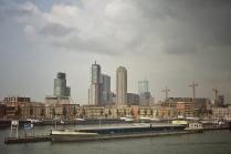 Rotterdam, Flussschifffahrt, Urlaub, Holland,