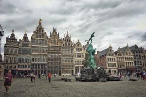 Belgien, Flandern, Antwerpen, Schiffsreise, Urlaub