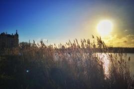 Sonne über dem See