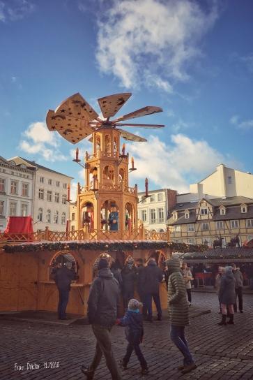 Schweriner Weihnachtsmarkt - letzter Tag