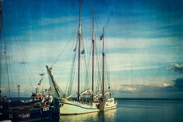 Segler auf dem Iselmeer