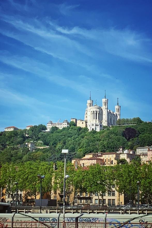 Lyon- Notre-Dame Fourviere, Frankreich Provence