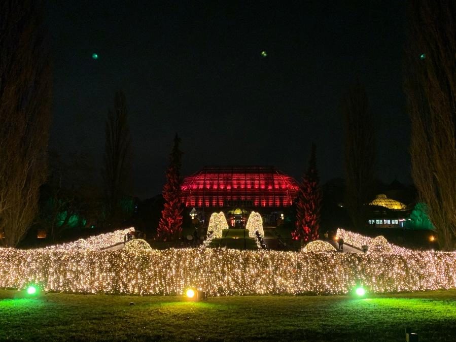 Lichterfest im Botanischen Garten